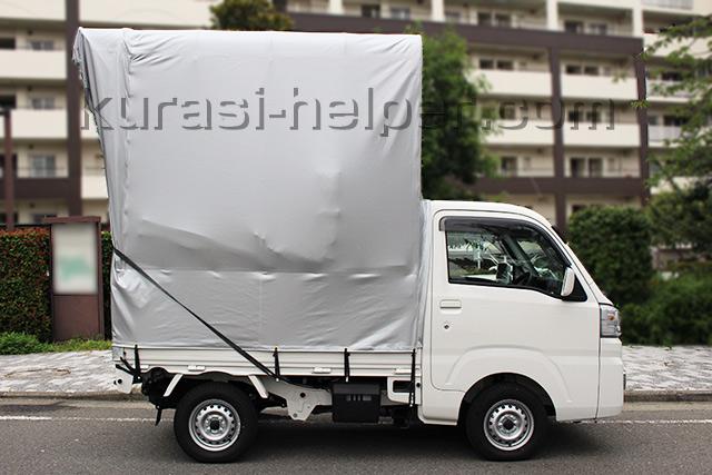 背の高い軽トラック