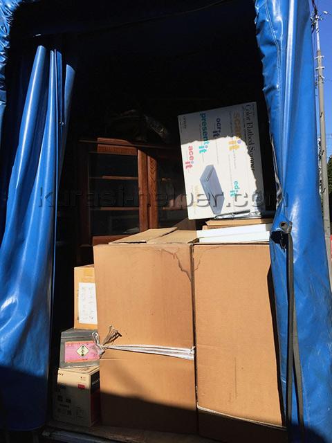 残置物の撤去、運搬