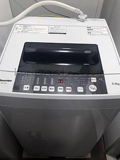 引越し先ですぐに洗濯機を使えるよう取り付けも行います