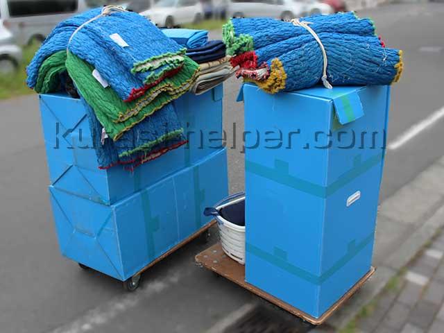 引越し用の梱包資材